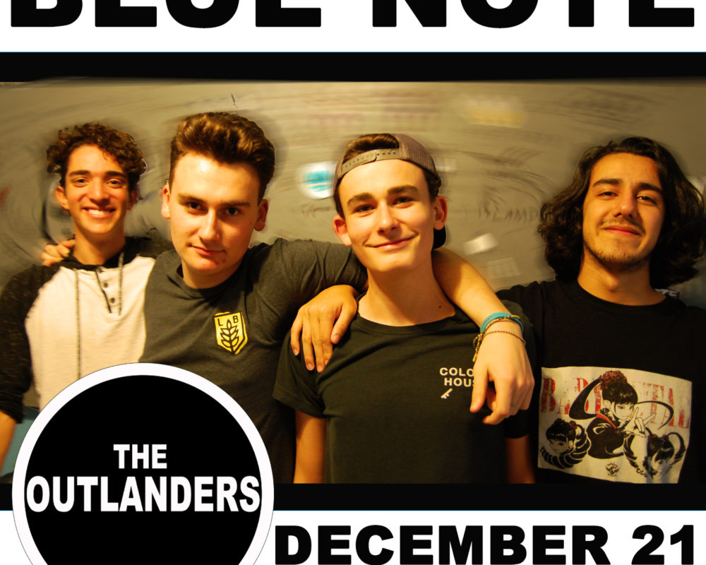 Outlanders - Blue Note 12-21-19