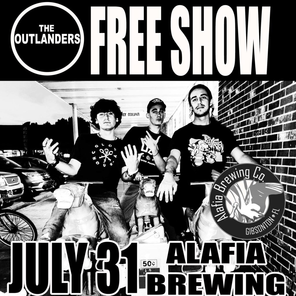 The Outlanders - Alafia Brewing Show - 7-31 copy 2
