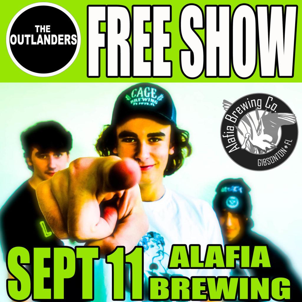 The Outlanders - Alafia Brewing Show - 9-11